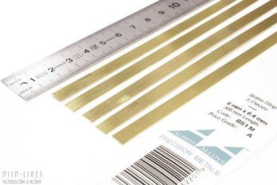 Messing Strip 6 mm x 0,4 mm