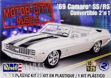 69 1 25 4929 camaro chevy convertible monogram revell pijp lines modelbouw hobby. Black Bedroom Furniture Sets. Home Design Ideas