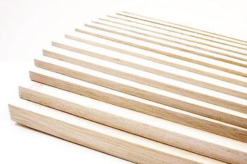 Balsa hout planken