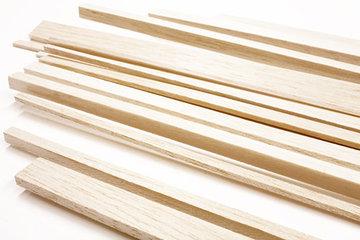 Balsa hout latjes