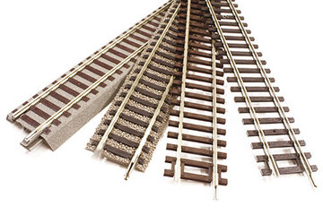 Modelspoor Rails 1:87 H0 - 1:160 N