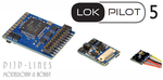 ESU 59649 ESU LokPilot 5 decoder DCC/MM/SX/M4 21MTC MKL