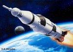 Revell 04909 Apollo Saturn V 1:144