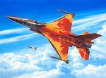 Revell 03980 F-16 Mlu Solo Display 'Nederlands F-16 demoteam'