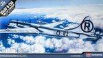 "Academy-12528-USAAF-B-29A-Ënola Gay & Bockscar""-1:72"