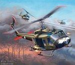 Revell-04983-Bell-UH-1H-Gunship-Helicopter-1:100
