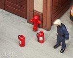 Faller 180950 Brandblussers en Brandkranen 1:87