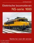 Boek Elektrische locomotieven NS-serie 1600 Jos Burgemeester