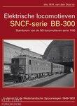 Boek Elektrische locomotieven SNCF-serie BB-300 drs. W.H. van den Dool sr.
