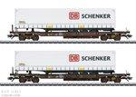 Marklin 47110 Rail Cargo Austria Set diepladers Type Sdkmms