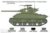 Italeri 6568 M4A1 SHERMAN met Amerikaanse infanterie