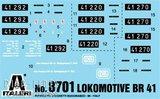 Italeri 8701 Locomotief BR41