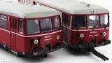 Roco DB Accutrein BR 515. Motorwagen met stuurwagen 72080 72081 78081