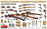 Miniart 35368 Britse Infanterie wapens en uitrusting