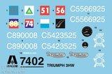Italeri-7402-Triumph-3HW-WWII-1:9