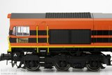 "ESU 31281 NL Rail Feeding Class 66 ""Orange"" Sound + Rook 1:87 H0"