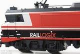"Roco 73688 RailLogix E-lok 1618 ""Captrain NL"" DC"