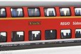 Fleischmann 862704 DB-AG Dubbeldekker 1e/2e klas (Südostbayernbahn)