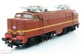 Roco 61460 NS Elektrische locomotief 1200 bruin + Goederenwagens NS 1224