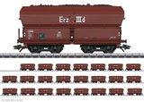 Marklin 46210 Display DB zelflosser ERZ IIId 24 stuks