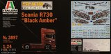 Italeri 3897 Scania R730 Black Amber 1:24
