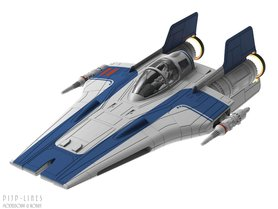 Star Wars A-Wing Fighter (Blauw)