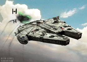 Star Wars Millenium Falcon Light & Sound