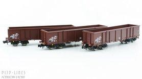 DR open bak wagons set Type Eas
