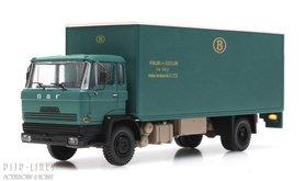 DAF kantelcabine kofferopbouw NMBS. Anno 1970