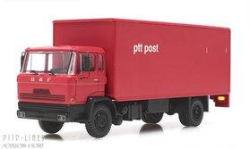 DAF kantelcabine kofferopbouw PTT Post. Anno 1970