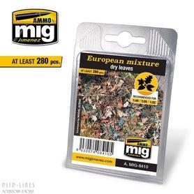 Europees mengsel - Droge bladeren
