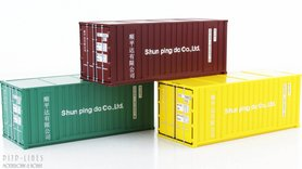 "3-delige 20'f container set ""Shun ping"""