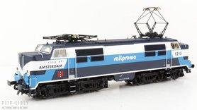 "Elektrische locomotief 1215 Railpromo ""City of Amsterdam"""