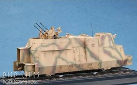 Duitse Kanonen und Flakwagen WW2
