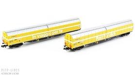SBB Post groot volume wagons 2-delige set