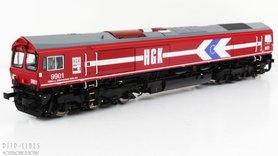 """HGK Class 66 """"9901"""" Sound + Rook"""