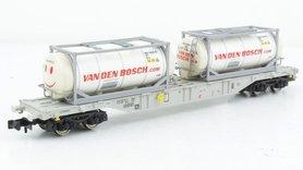 """(NL) AAE Containerwagen Type Sgnss """"Van Den Bosch"""""""