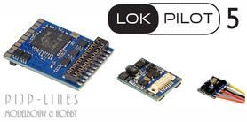ESU LokPilot 5 decoder DCC/MM/SX/M4 PluX22