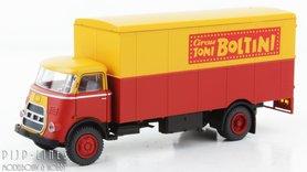 DAF kofferopbouw Circus Toni Boltini, cabine '70.