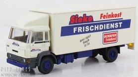 DAF kantelcabine Kofferopbouw Sieko. Anno 1987