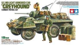 U.S. M8 Greyhound Combat Patrol