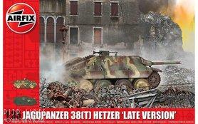 WW2 JagdPanzer 38 ton Hetzer, late versie