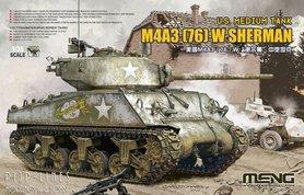 WW2 US Medium Tanl M4A3 (76) W Sherman