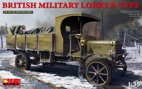 Engelse militaire Lorry B-Type