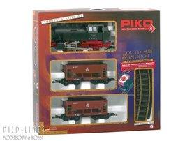 Piko G Startset DB stoomlok BR 80 met goederentrein