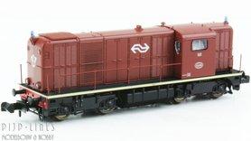 NS 2400 diesellocomotief bruin L-sein Sound