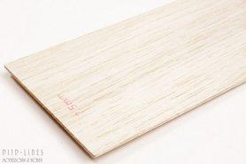 Balsa hout plank 2,5mm