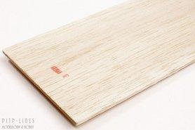 Balsa hout plank 3mm