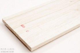 Balsa hout plank 8mm
