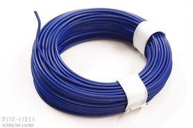 Draad Blauw 10 meter 0,14qmm